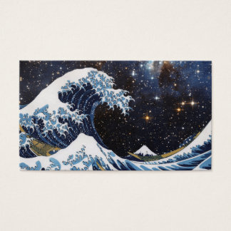 Hokusai and The Great Wave OFF Kanagawa + LH 95 Business Card