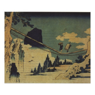 Hokusai Art painting Landscape Poster
