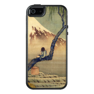 Hokusai Boy Viewing Mount Fuji Japanese Vintage OtterBox iPhone 5/5s/SE Case