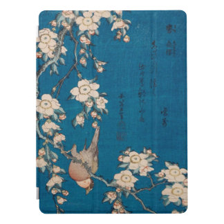 Hokusai Bullfinch and Weeping Cherry GalleryHD Art iPad Pro Cover
