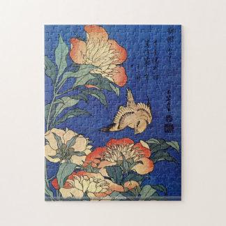 Hokusai - Flowers Jigsaw Puzzle