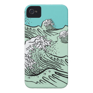 Hokusai Great Wave iPhone Case Case-Mate iPhone 4 Cases