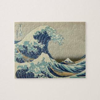 Hokusai: Great Wave Off Kanagawa Jigsaw Puzzle