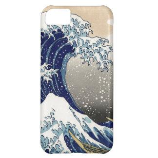Hokusai Great Wave off Kanagawa Katsushika Tsunami iPhone 5C Case