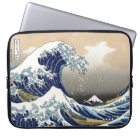 Hokusai Great Wave Off Kanagawa Katsushika Tsunami Laptop Sleeve