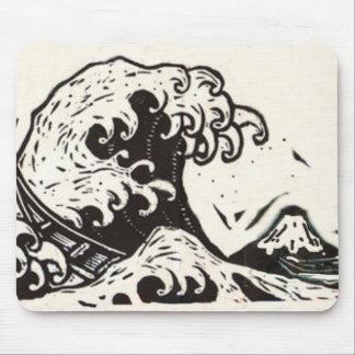 HOKUSAI JAPAN WAVE MOUSEPAD