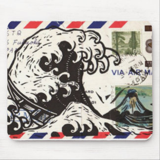 HOKUSAI JAPAN WAVE MOUSEPADS