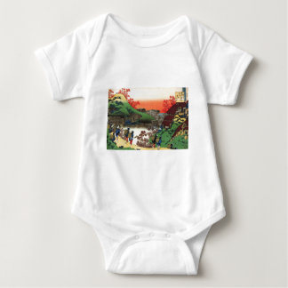 Hokusai - Japanese Art - Japan Baby Bodysuit