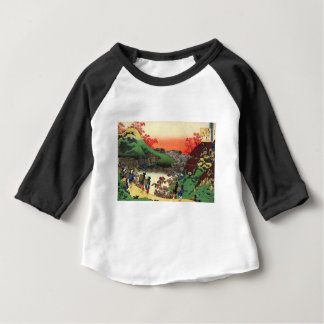 Hokusai - Japanese Art - Japan Baby T-Shirt