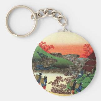 Hokusai - Japanese Art - Japan Key Ring