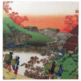 Hokusai - Japanese Art - Japan Napkin