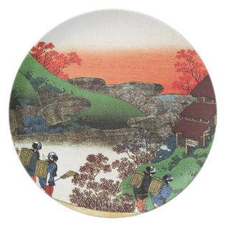 Hokusai - Japanese Art - Japan Plate