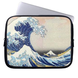 Hokusai Japanese Art  Wave Computer Sleeve