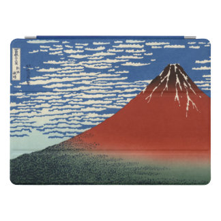 Hokusai Red Fuji, South Wind, Clear Sky GalleryHD iPad Pro Cover