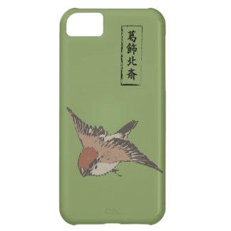 HOKUSAI Sparrow - MATSUBA color Cover For iPhone 5C