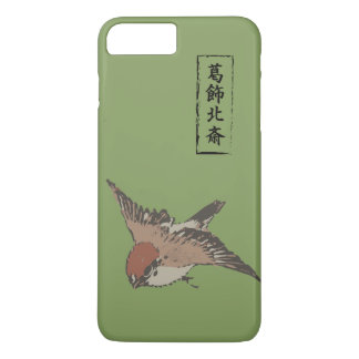 HOKUSAI Sparrow - MATSUBA color iPhone 7 Plus Case