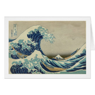 Hokusai - The Great Wave off Kanagawa Card