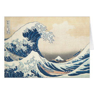 Hokusai The Great Wave Off Kanagawa Card