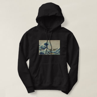 Hokusai The Great Wave off Kanagawa GalleryHD Art Hoodie