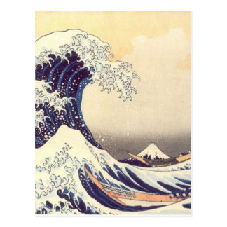 Hokusai 'The Great Wave' Postcard