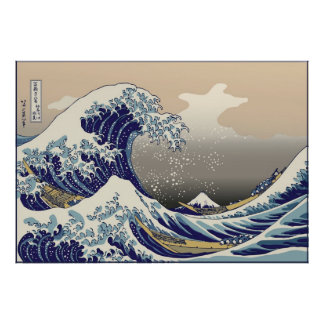 Hokusai The Great Wave Posters