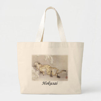 Hokusai - The Winter Tiger Jumbo Tote Bag