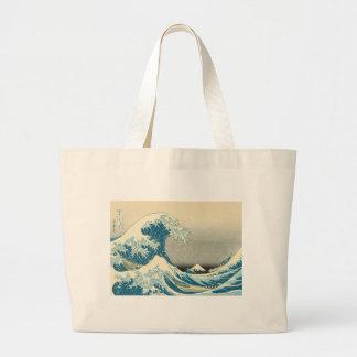 Hokusai - Under the Wave Off Kanagawa Jumbo Tote Bag