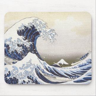 Hokusai's Great Wave Mouse Pad