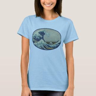 Hokusai's Great Wave Tee