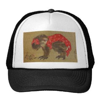Hokusai's 'Monkey' Trucker Hat