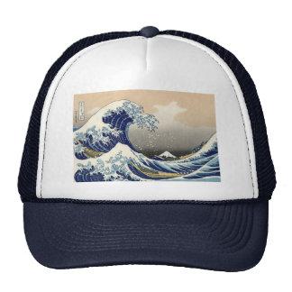 Hokusai's 'The Great Wave Off Kanagawa' Hat Trucker Hat