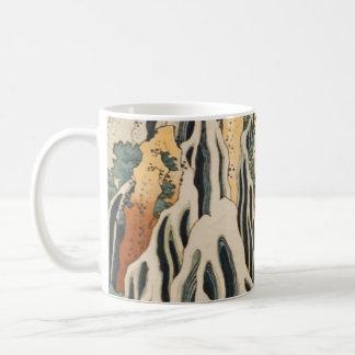 Hokusai's Waterfalls Kirifuri Coffee Mug