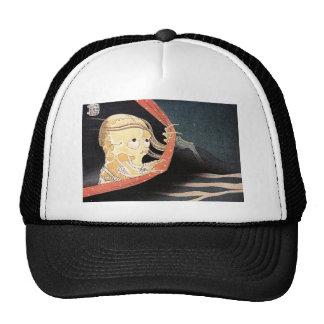Hokusai's 'Weird Skeleton' Trucker Hat