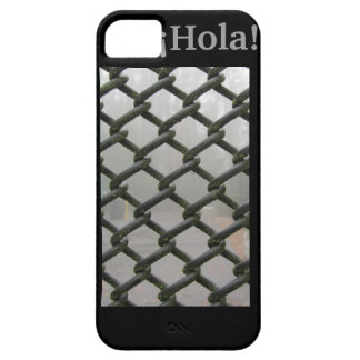 ¡Hola! - Black Industrial iPhone 5 Case