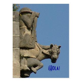 ¡Hola! - Greetings from Barcelona Postcard