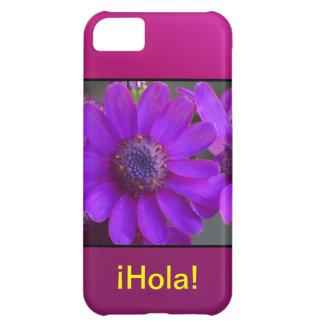 ¡Hola! - Margarita Púrpura iPhone 5C Covers