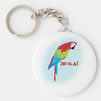 hola parrot key ring