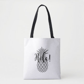 Hola! Pineapple Tote Bag
