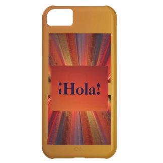 Hola Shades of Orange iPhone 5C Covers