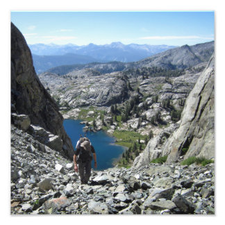 Holcomb Lake - Ansel Adams Wilderness - Sierra Photograph