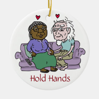 HOLD HANDS ornament