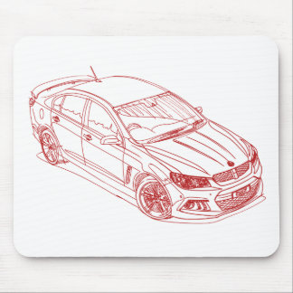 Hold HSV ClubsprtR8 2015 Mouse Pad