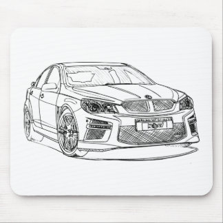 Hold HSV GenF 2014 Mouse Pad