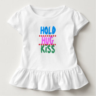 HOLD HUG KISS :  Friends Party Meeting Blaast Toddler T-Shirt