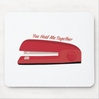 Hold Me Together Mousepads