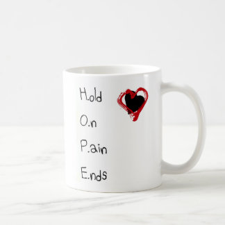 Hold On Pain Ends Coffee Mug