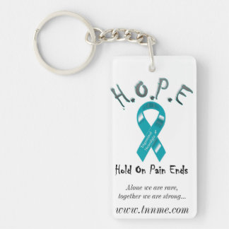 Hold On Pain Ends... Key Ring