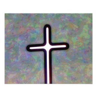 Hold the Light Inside Cross Custom Flyer