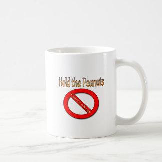 Hold the Peanuts Peanut Allergy Design Coffee Mug