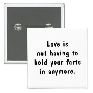 Hold Your Farts 15 Cm Square Badge